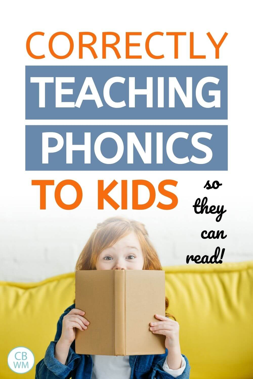 correctly teaching kids to read