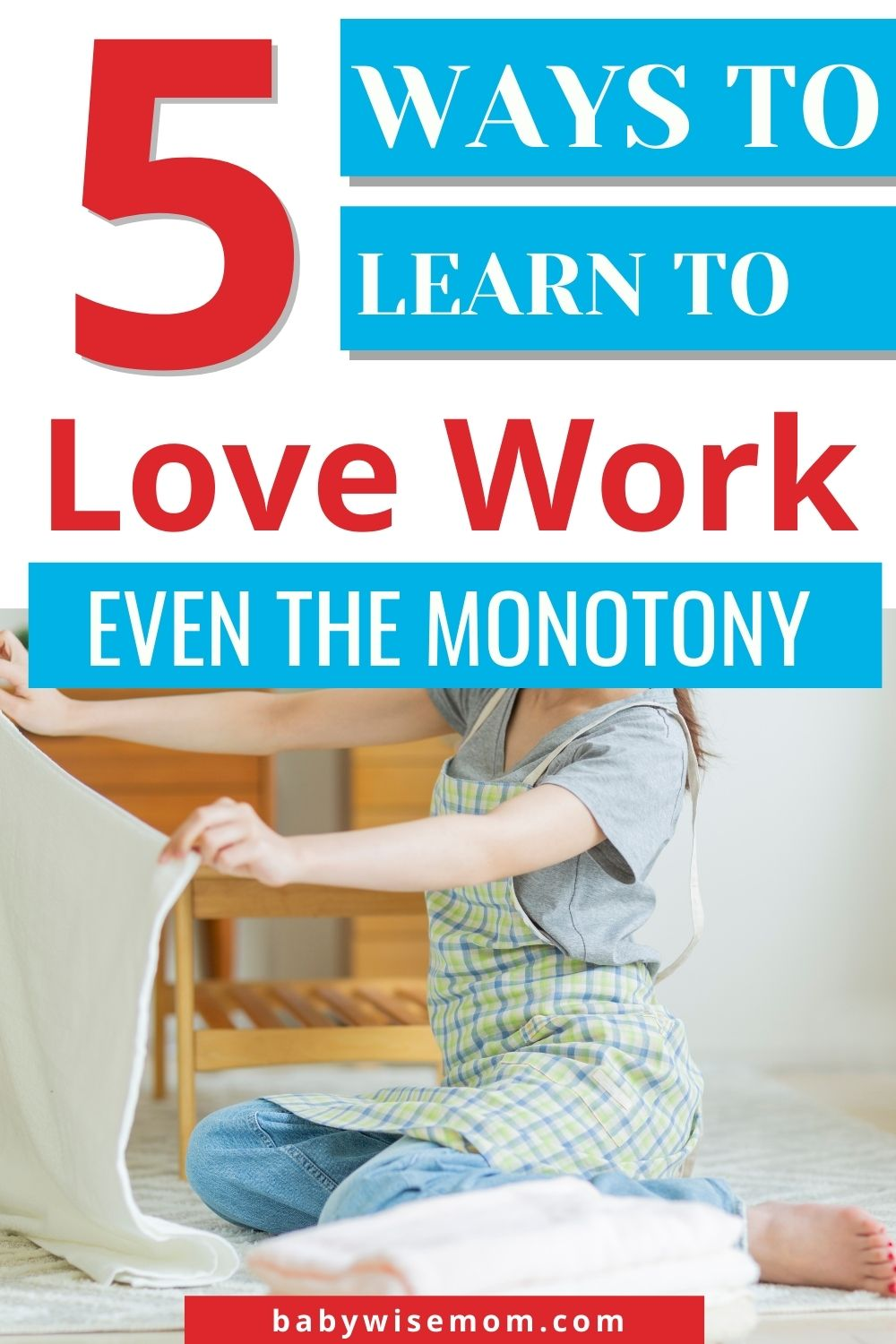 Learning to love our work