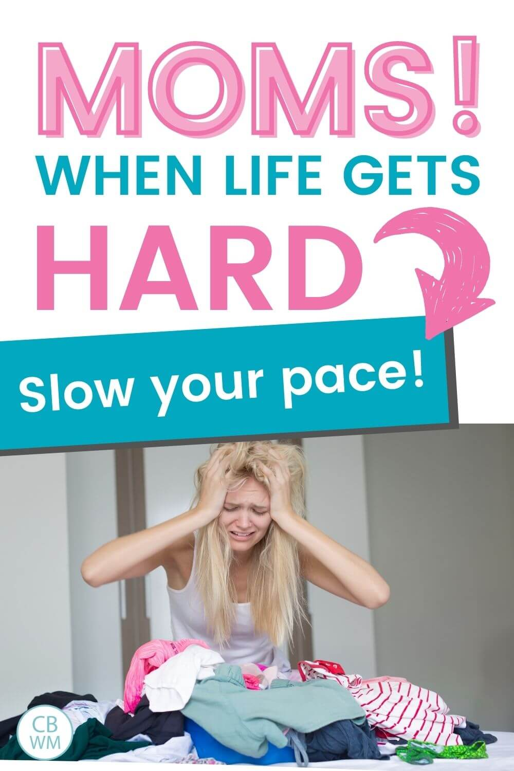 When life gets hard slow the pace