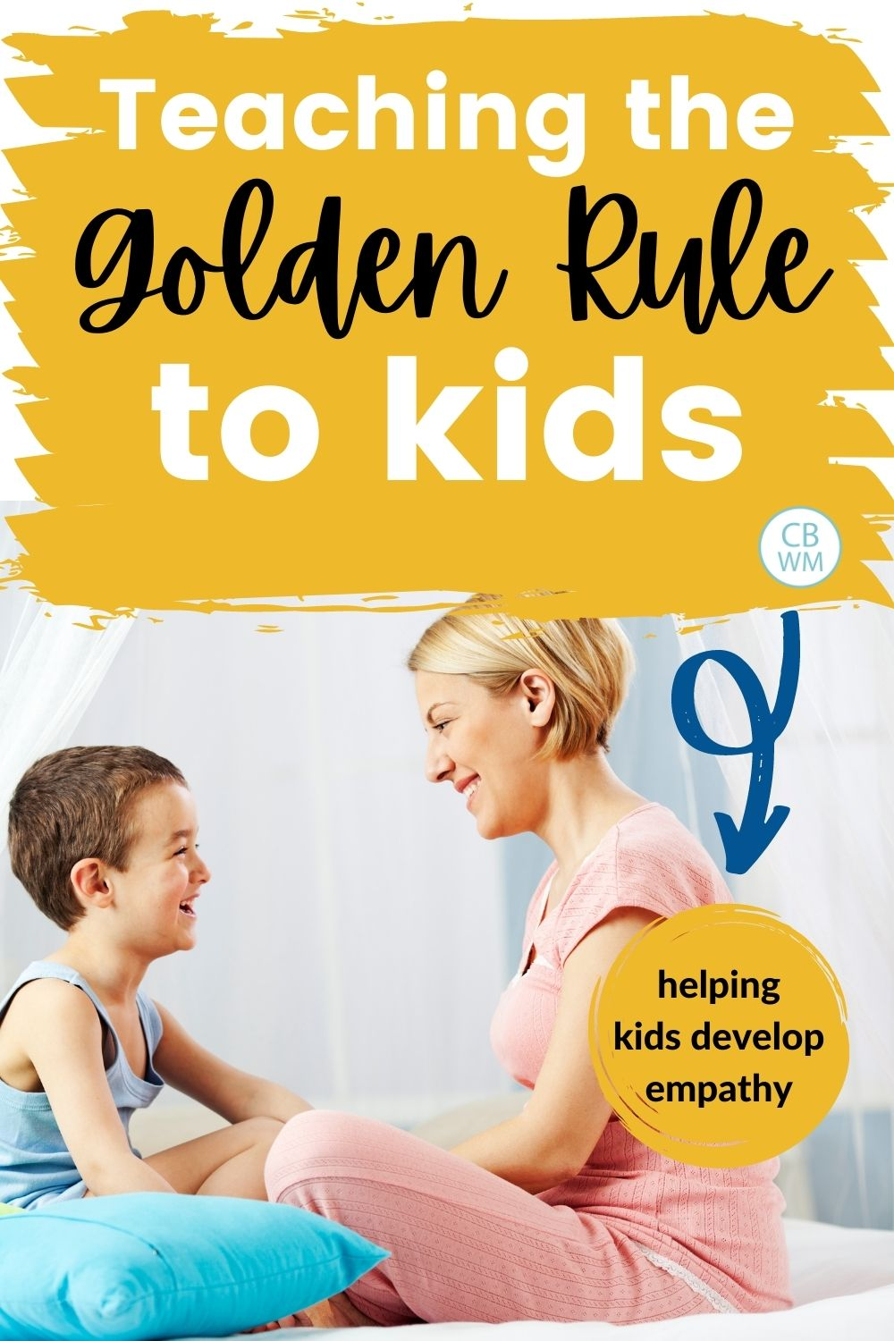 Teaching golden rule to kids