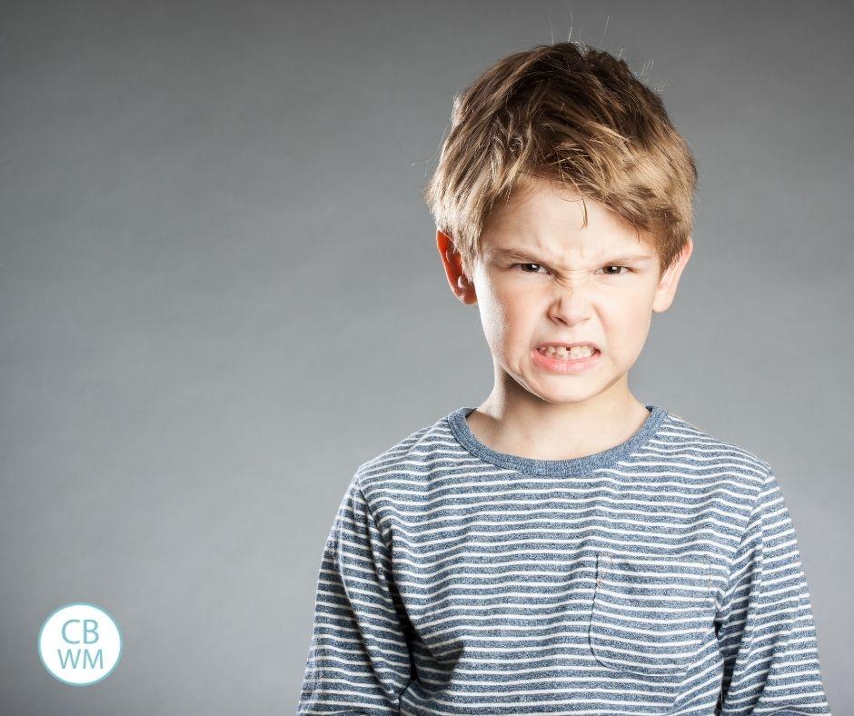 Aggressive child