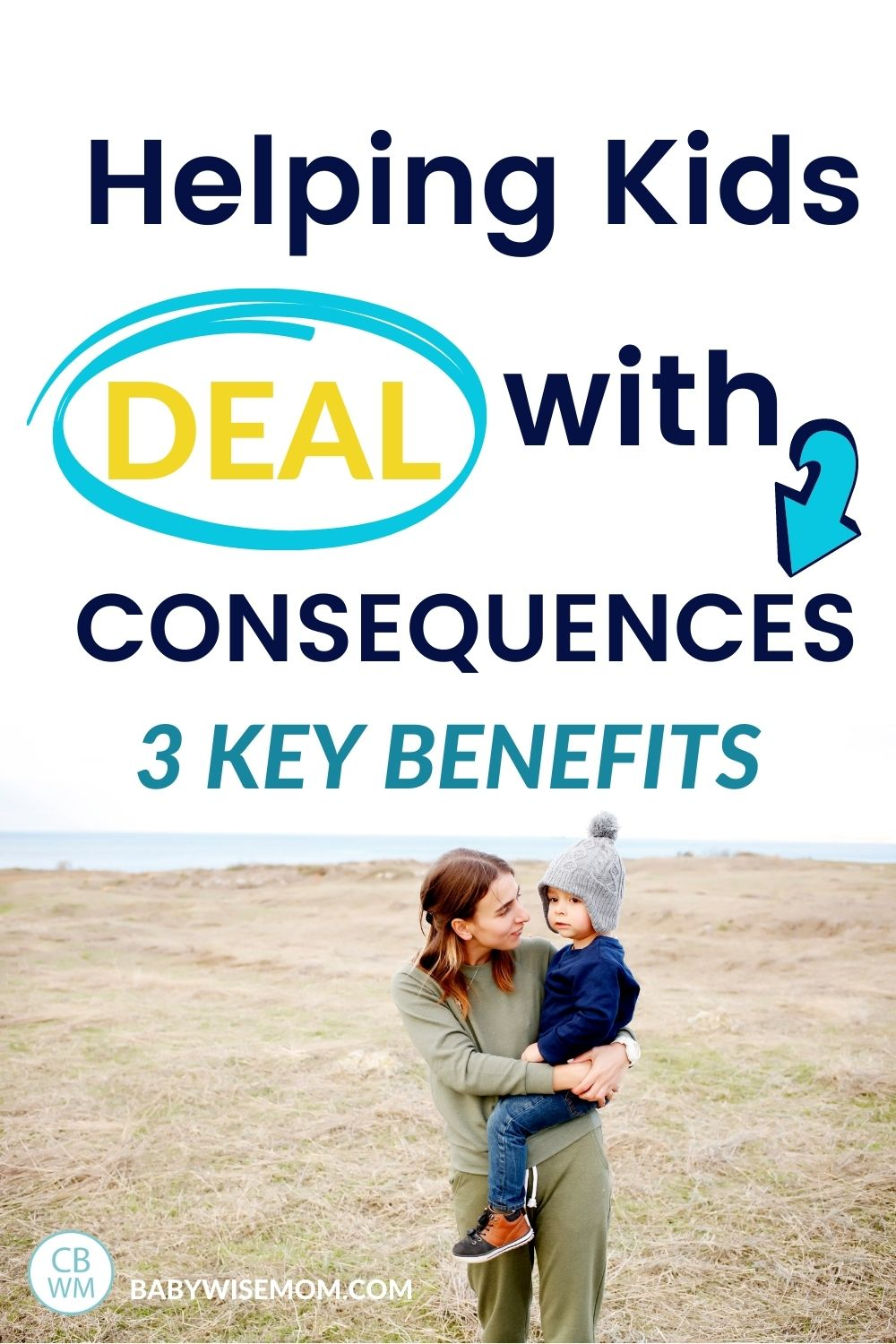 kids deal with consequences pinnable image