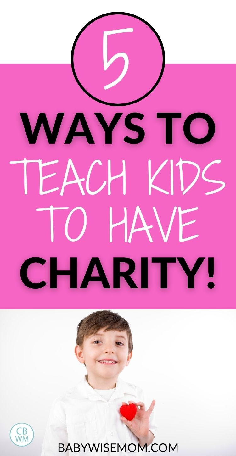 5 ways to teach kids to have charity