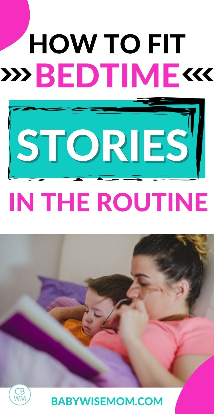 Bedtime stories in routine