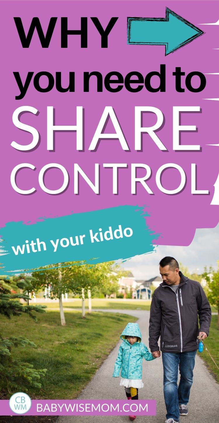 Share control with kiddo