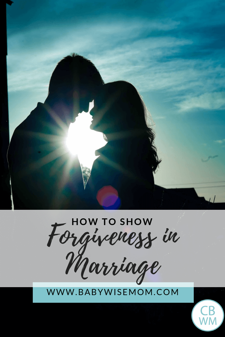 How to show forgiveness in marriage. In your marriage, it is important to forgive and also to seek forgiveness from your spouse. Forgive and forget.