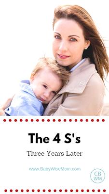The 4 S's (three years later) | sleep training | #sleeptraining