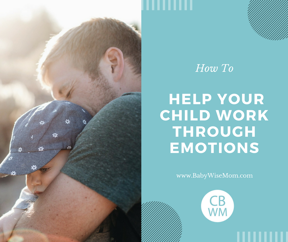 How to help your child work through emotions