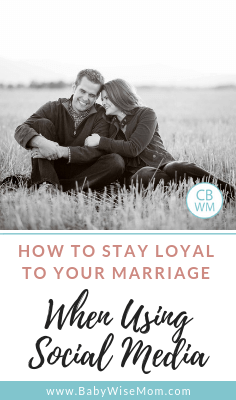 Marriage, Technology, Social Media, and Loyalty. The importance of using caution to stay loyal to our spouse when using social media.