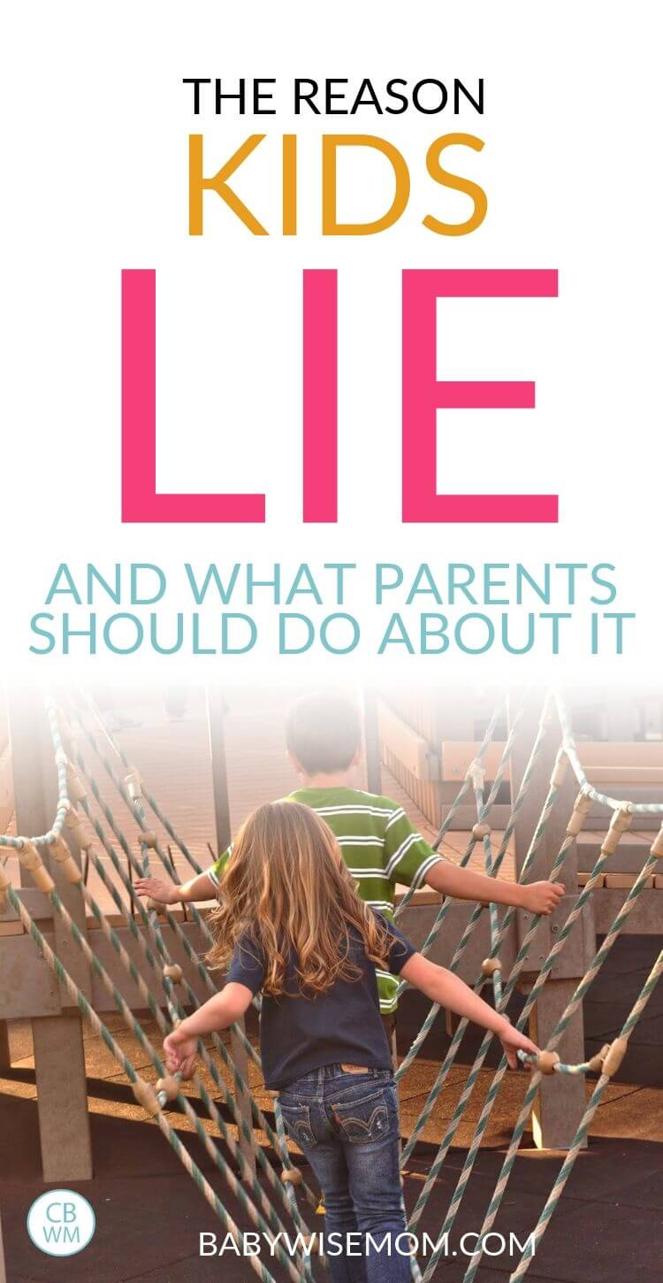 Why Kids lie and what to do Pinnable image