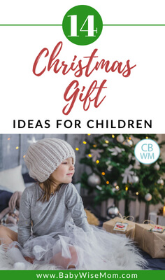14 Christmas Gift Ideas for Children. Gift ideas for your children ages 2-10.