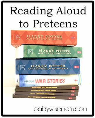 Reading aloud to preteens