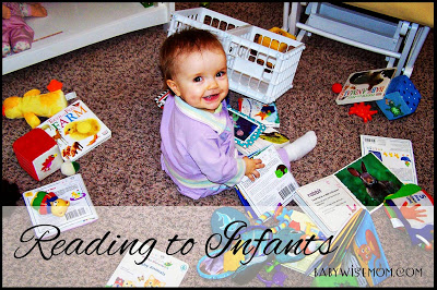 Reading aloud to infants