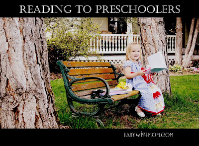 Reading aloud to preschoolers