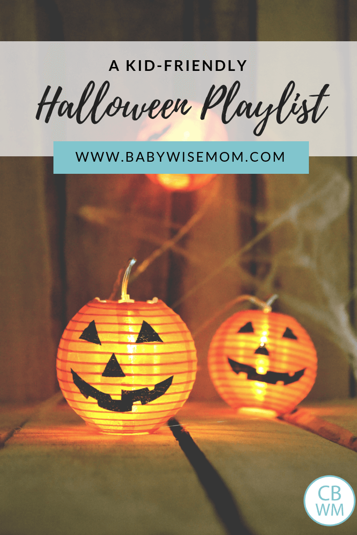 Kid Friendly Halloween Playlist to listen to. Halloween songs that are not too scary or creepy.