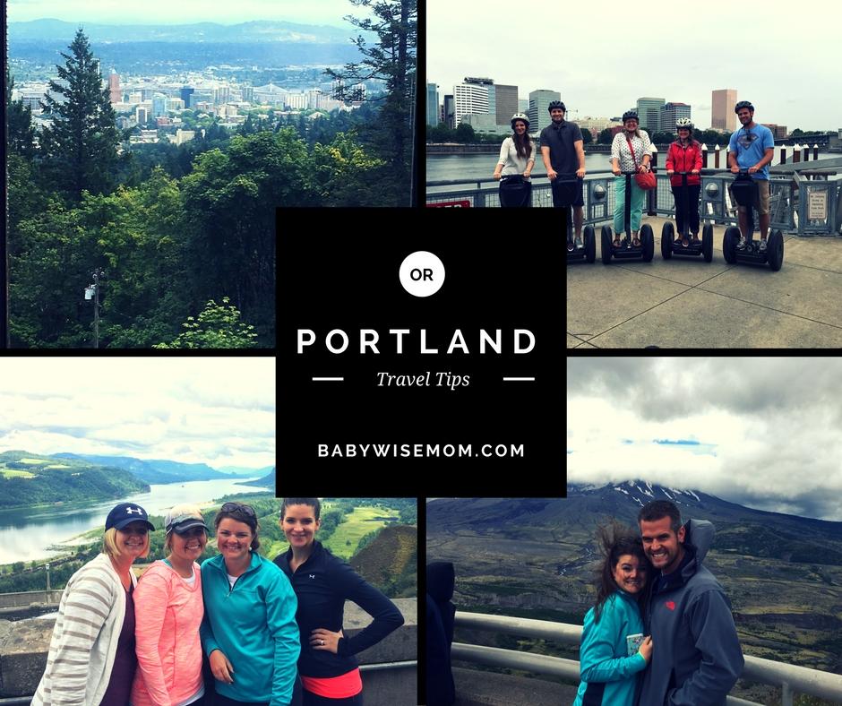 Portland travel tips