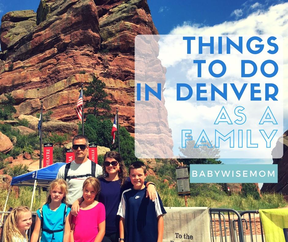 Denver travel tips