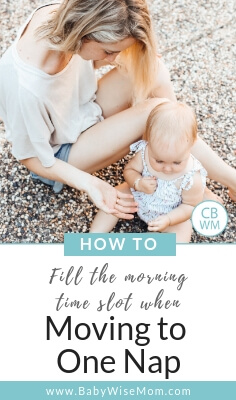 How To Fill Toddler's Time When Transitioning to One Nap. What to do with the schedule when you are at one nap a day. Activities to do with your toddler with a picture of a mother and toddler