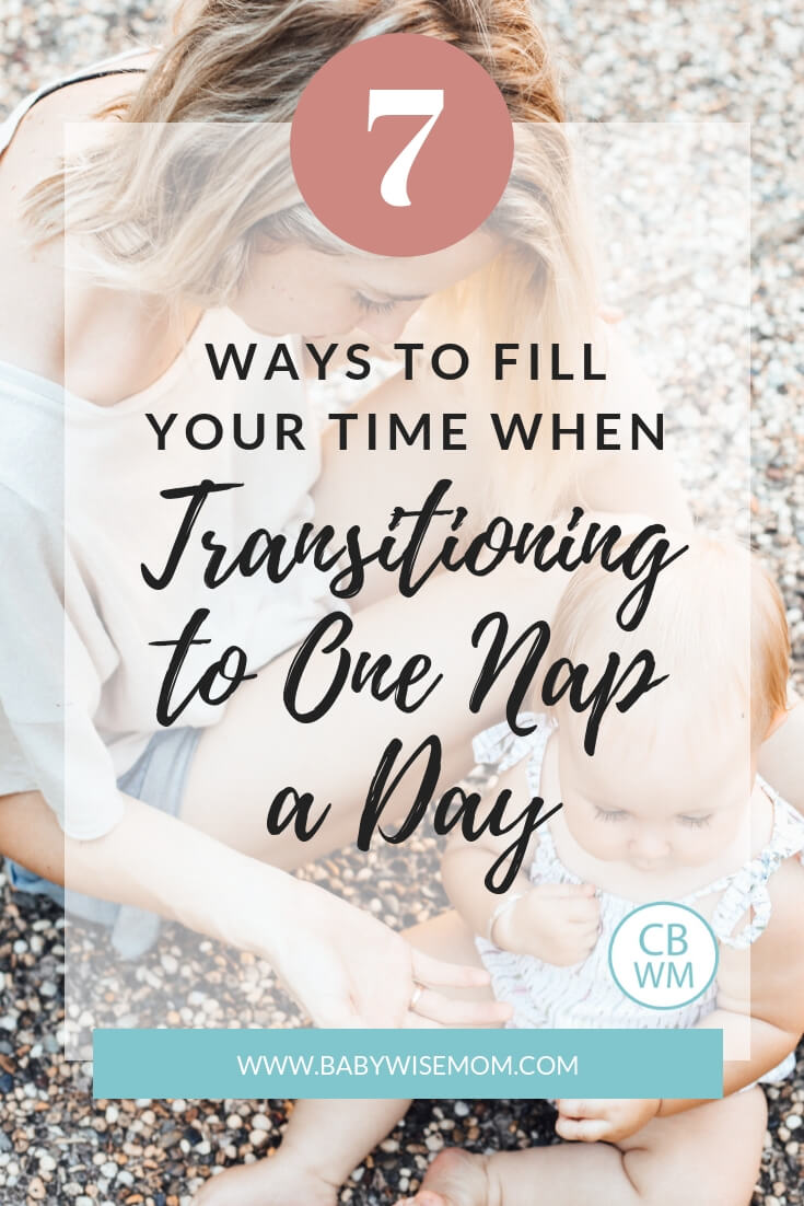 How To Fill Toddler's Time When Transitioning to One Nap. What to do with the schedule when you are at one nap a day. Activities to do with your toddler.