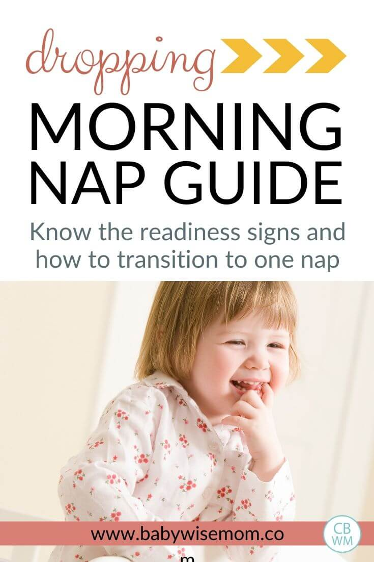 Dropping the morning nap guide Pinnable Image