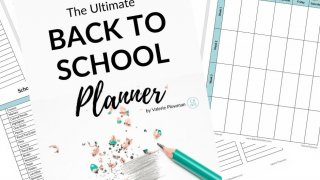 Back to school planner intro image