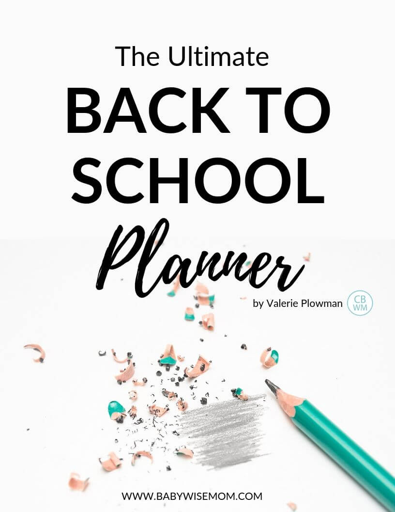 The Ultimate Back to School Planner