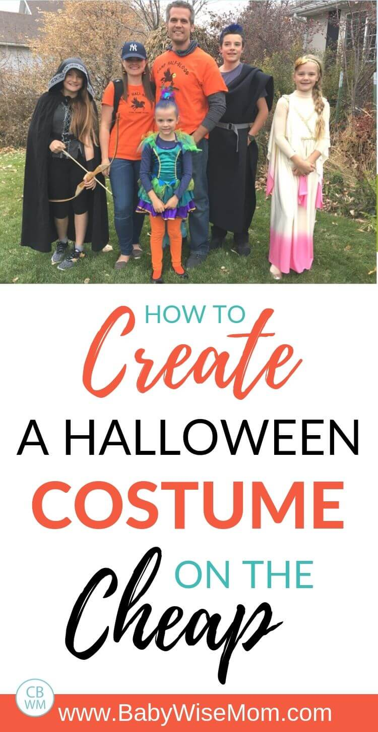 Create Halloween Costume pinnable image