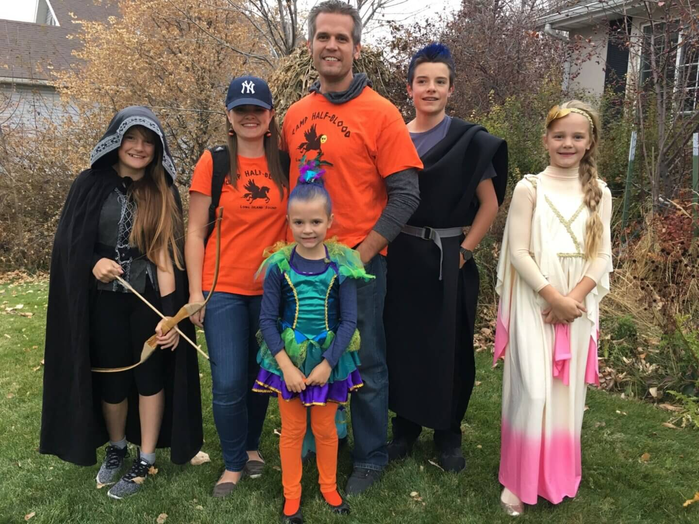 Percy Jackson Halloween Costume Theme