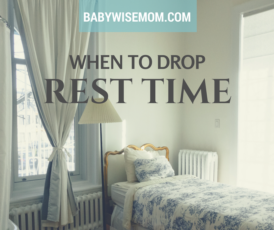 When to drop rest time