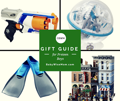 Gift ideas for preteen boys. Thirteen different gift ideas you can give the tween boy in your life.