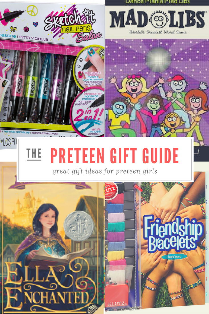 Preteen gift for girls ideas. Over fourteen different gift ideas for the tweenage girl in your life. Find a great gift the preteen will love!