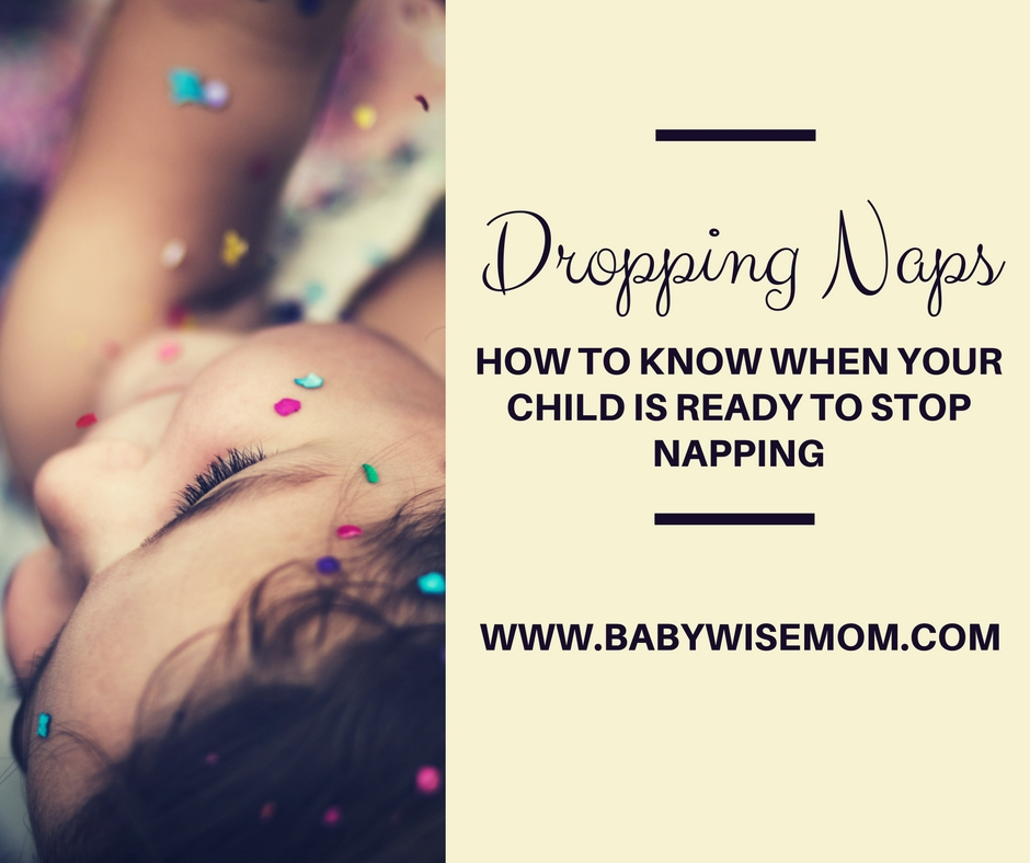 How to know when your child is ready to stop napping