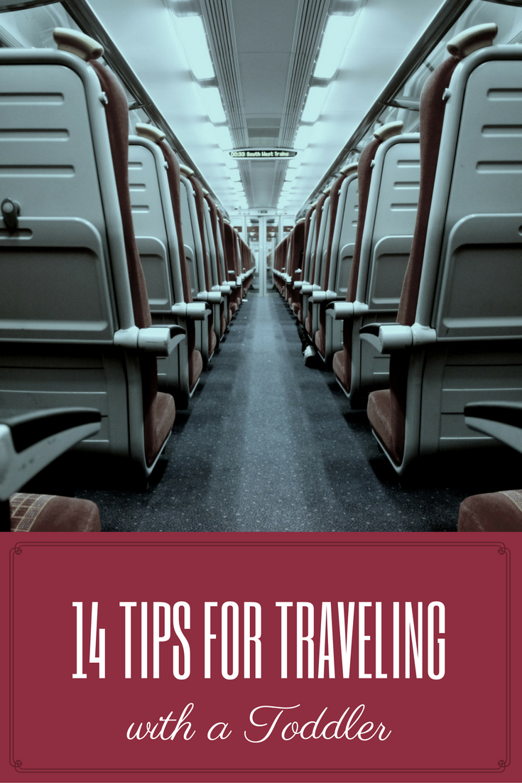 14 Tips for Traveling with a Toddler