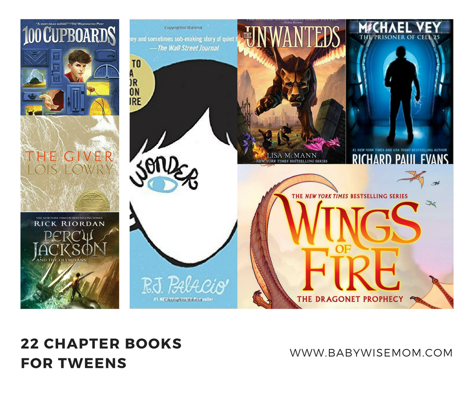 Chapter books for tweens