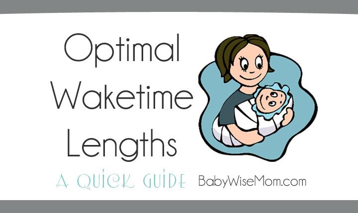 Optimal waketime lengths