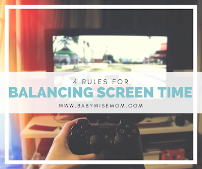 Rules for Balancing Screen Time