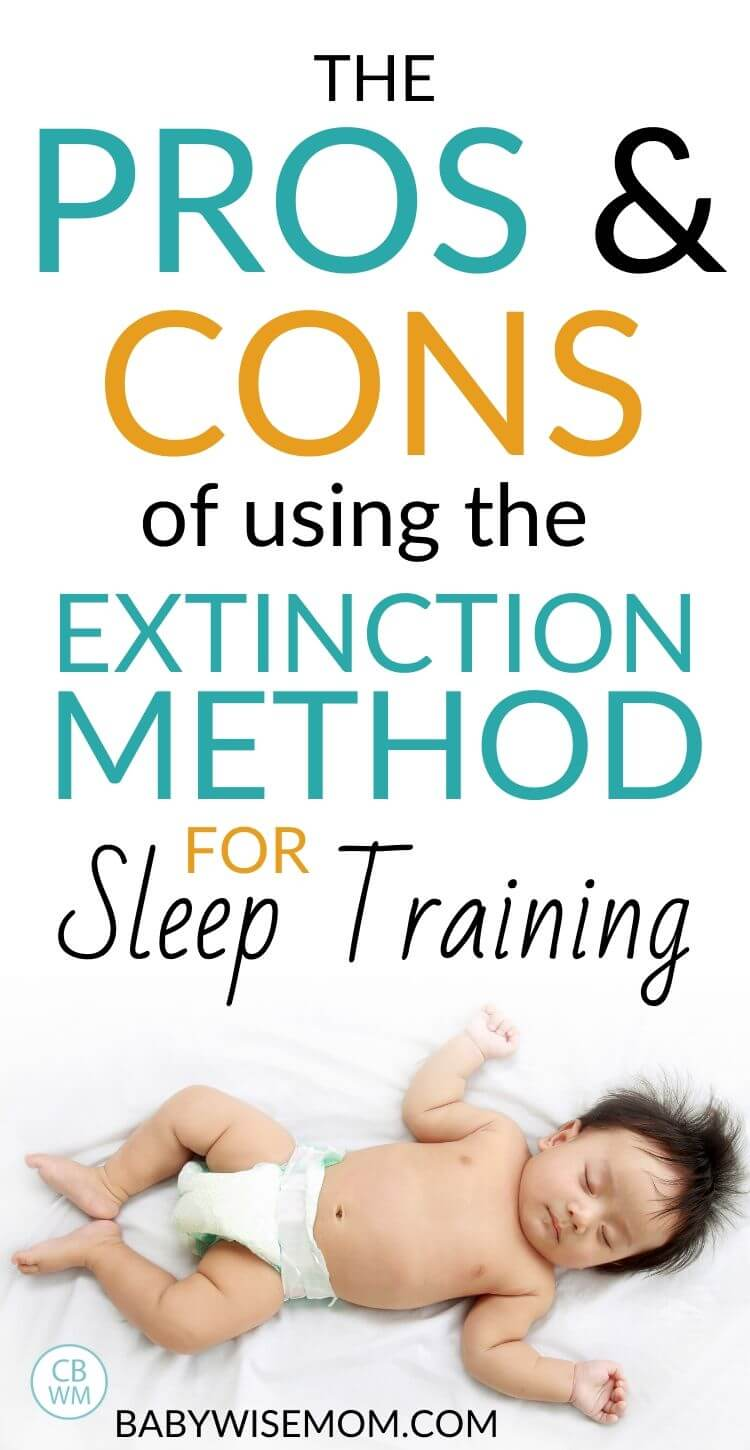 The pros and cons of using the extinction method for sleep training Pinnable Image
