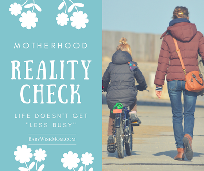 Motherhood Reality Check
