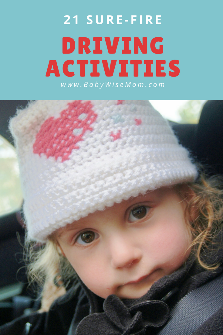 Driving Activities to do with your child