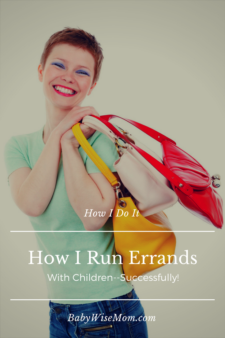 How to successfully run errands with children