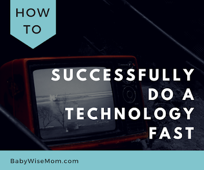 How to successfully do a technology fast