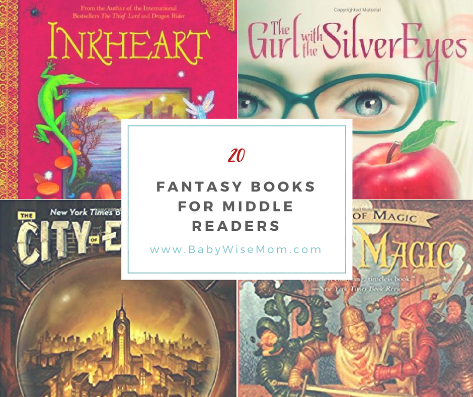 20 Fantasy Books for Middle Readers