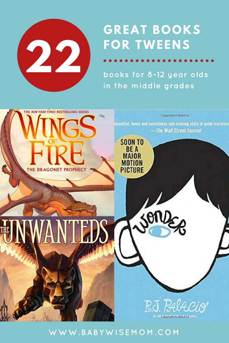 22 Chapter Books for PreTeens {Ages 8-12}