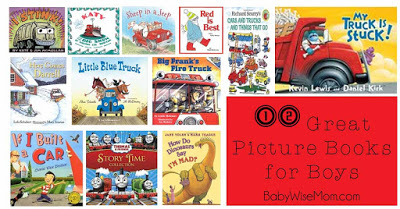 great picture books for boys