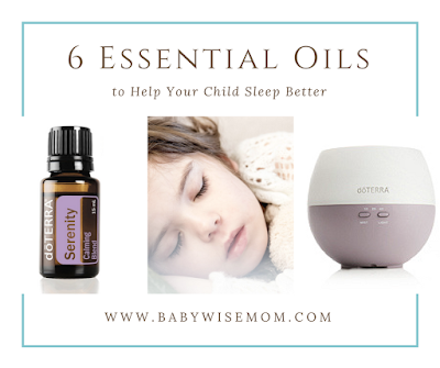 6 Essential Oils to Help Your Child Sleep Better