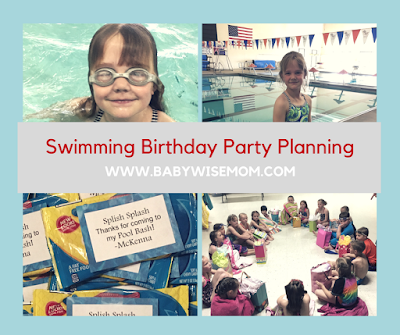 How to plan a swimming birthday party