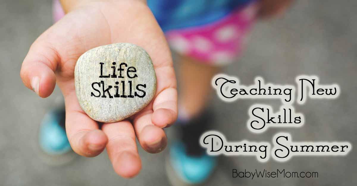 Teaching New Skills During Summer