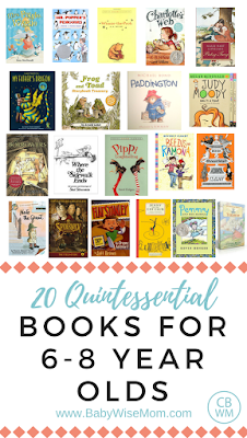 20 Books for 6-8 Year Olds