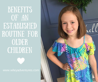 Benefits Of An established Routine For Older Children