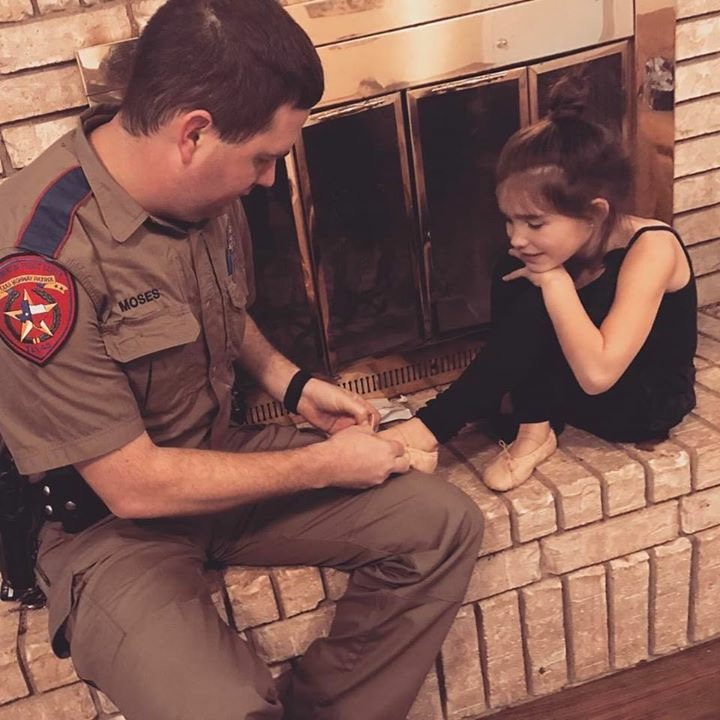 State Trooper and his daughter